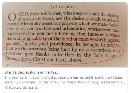 last prayer in litany